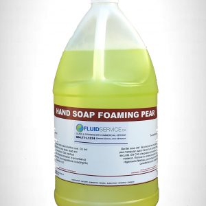Liquid foaming hand soap, low scent