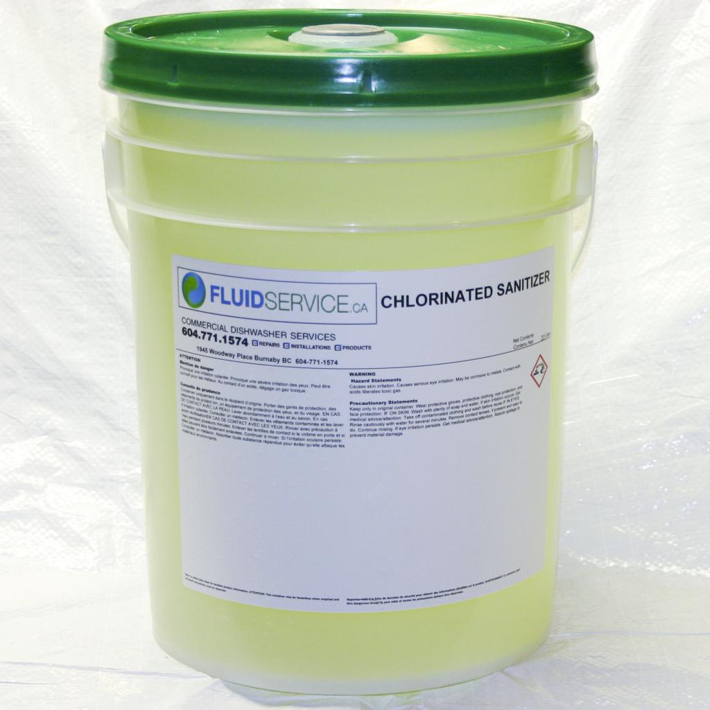 Chorinated Machine sanitizer