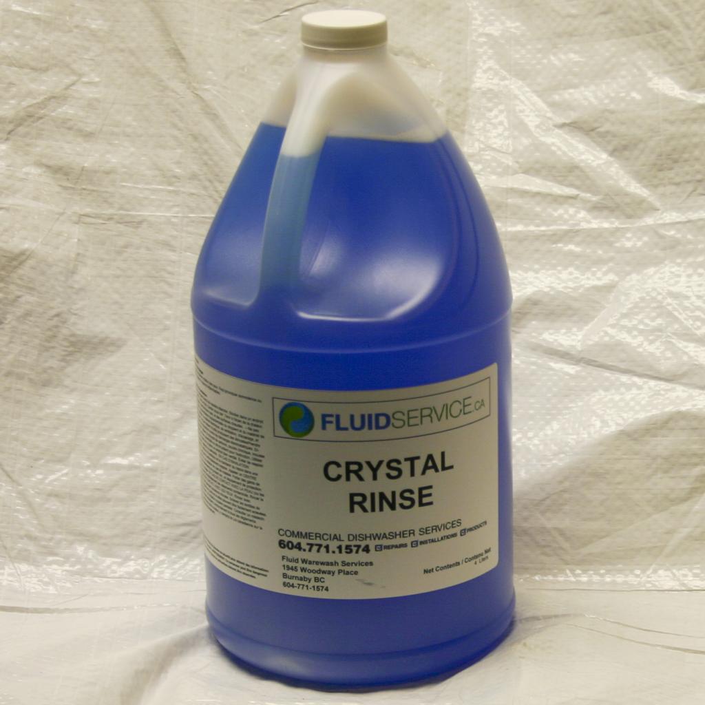 Glass Washer Rinse additive