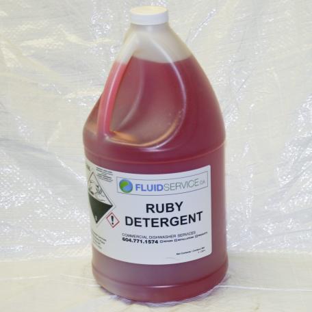 RUBY Bar Machine detergent